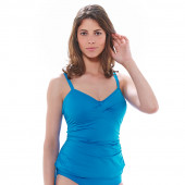 Fantasie Swim Tankini-Oberteil Cool China Blue