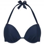 Beachlife Black Iris Vorgeformtes Neckholder Bikinioberteil Dunkelblau