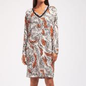Cyell Sleepwear Zebra Nachthemd Zebraprint